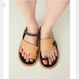 エンフォルド(ENFOLD)のnagonstans Asymmetry Sandals(サンダル)
