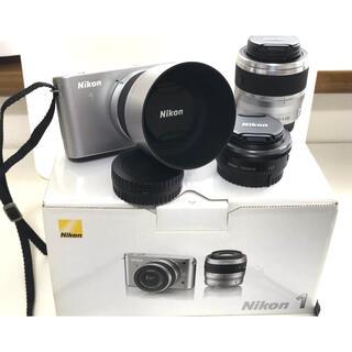 Nikon - NIKON J1ダブルズームキット+単焦点レンズ