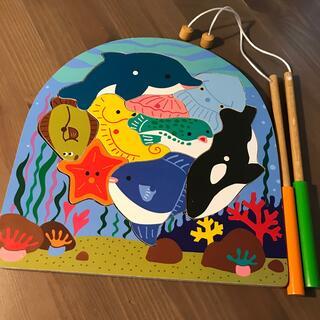 木のパズル 海の生き物(知育玩具)
