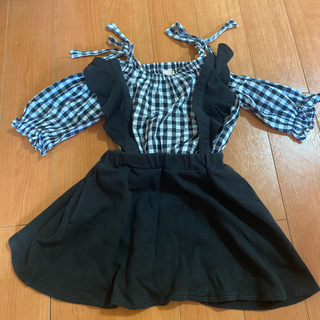 プティマイン(petit main)のつりスカート(スカート)