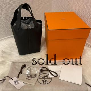 Hermes - 【新品未使用】ピコタンロック PM ブラック
