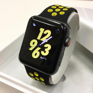 Apple Watch - Apple Watch シリーズ3 NIKE セルラー アップルウォッチ