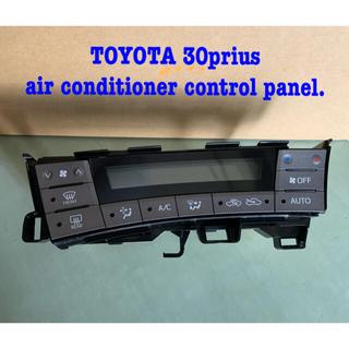 トヨタ(トヨタ)のTOYOTA 30prius air conditioner panel.(車種別パーツ)