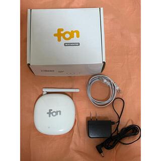 ソフトバンク(Softbank)のSoftBank fon Wi-Fi router(その他)