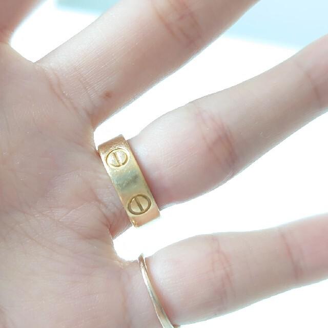 Cartier(カルティエ)の期間限定価格★カルティエ★ラブリング★7号 レディースのアクセサリー(リング(指輪))の商品写真