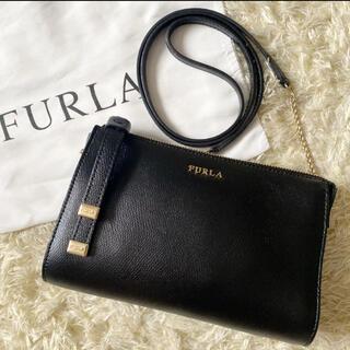 Furla - 【美品】フルラ ルナ 2way ショルダーバッグ 斜め掛け ブラック