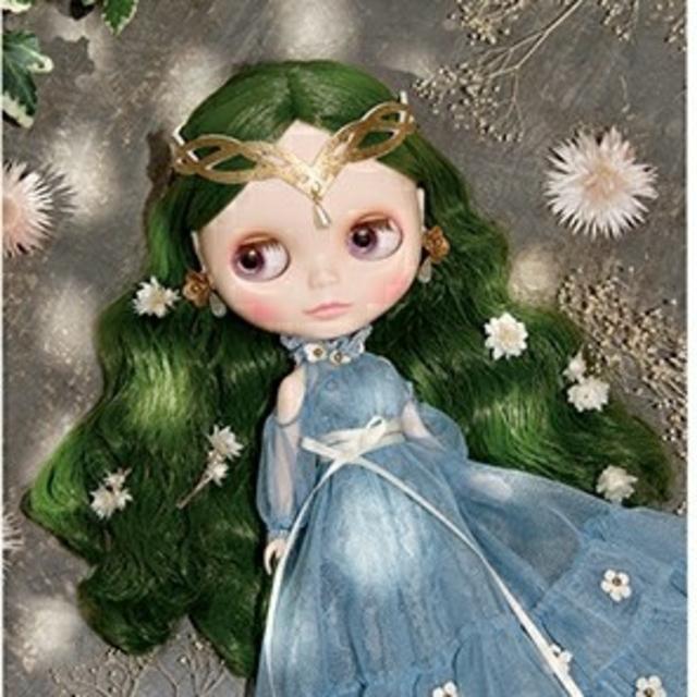 Takara Tomy(タカラトミー)のネオブライス頭皮パーツ「レディ・パナシア」在庫ラスト1点 ハンドメイドのぬいぐるみ/人形(人形)の商品写真