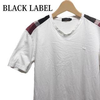 BLACK LABEL CRESTBRIDGE - BLACK LABEL CRESTBRIDGE 半袖Tシャツ 白 半袖カットソー