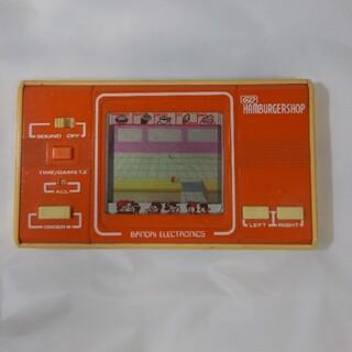 バンダイ(BANDAI)のハンバーガーショップ バンダイ ゲームウォッチ(家庭用ゲーム機本体)