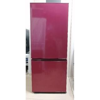 2019年製AQUA製2ドア冷蔵庫184L 23区近郊配送・設置します(冷蔵庫)