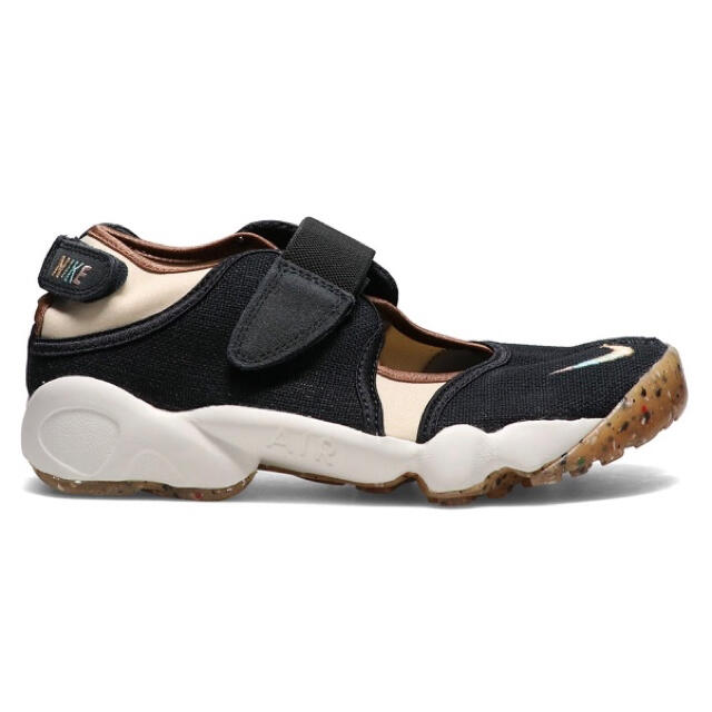 NIKE(ナイキ)の24㎝‼️最安‼️新品‼️ナイキ エアリフト 足袋 黒❤️箱付‼️黒タグ付‼️ レディースの靴/シューズ(スニーカー)の商品写真