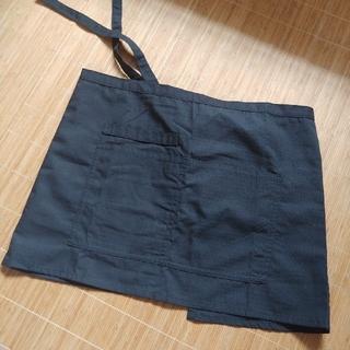 シマムラ(しまむら)のショートエプロン 黒色(その他)