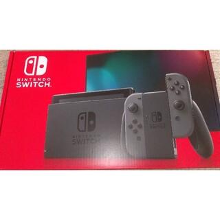 Nintendo Switch - 新型 Nintendo Switch Joy-Con(L)/(R) グレー 本体