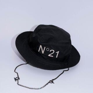 ヌメロヴェントゥーノ(N°21)の新品 N21 ニューエラ アドベンチャーワイドブリム ヌメロ ヴェントゥーノ(ハット)