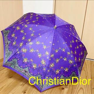 クリスチャンディオール(Christian Dior)の折り畳み傘 花柄 Christian Dior/クリスチャンディオール(傘)