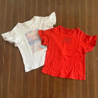 GU - ジーユー Tシャツ 2枚セット サイズ110