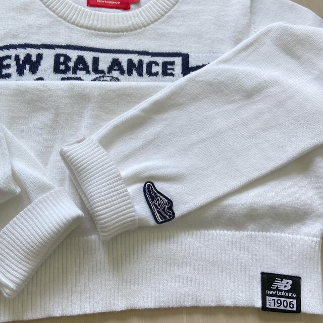 New Balance(ニューバランス)のニューバランス ゴルフウェア 薄手ニットLサイズ スポーツ/アウトドアのゴルフ(ウエア)の商品写真