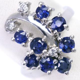 TASAKI - タサキ      Pt900プラチナ サファイア ダイヤモンド 1