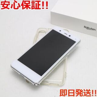 アンドロイド(ANDROID)の美品 Rakuten Mini  クールホワイト(スマートフォン本体)