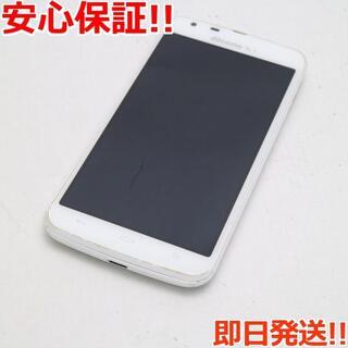 アクオス(AQUOS)の美品 SH-06E AQUOS PHONE ZETA ホワイト (スマートフォン本体)