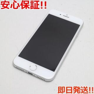 アイフォーン(iPhone)の美品 au iPhone7 32GB シルバー (スマートフォン本体)