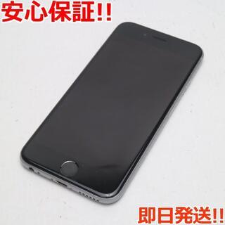 アイフォーン(iPhone)の良品中古 SIMフリー iPhone6S 16GB スペースグレイ (スマートフォン本体)