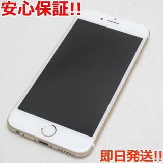 アイフォーン(iPhone)の美品 SIMフリー iPhone6S 64GB ゴールド (スマートフォン本体)