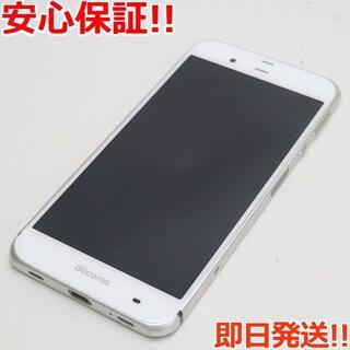 アクオス(AQUOS)の美品 SH-04H AQUOS ZETA ホワイト (スマートフォン本体)