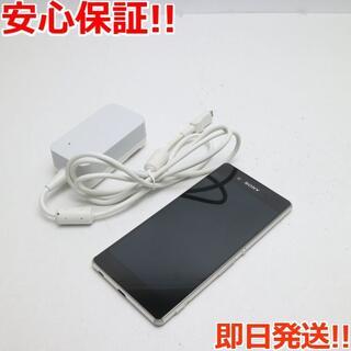 エクスペリア(Xperia)の美品 SO-03G Xperia Z4 アクア グリーン (スマートフォン本体)