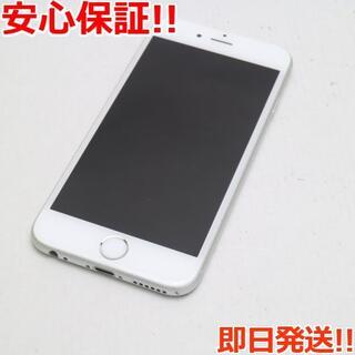 アイフォーン(iPhone)の美品 SIMフリー iPhone6S 128GB シルバー (スマートフォン本体)