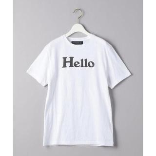 MADISONBLUE - MADISONBLUE HELLOTシャツ 21SS完売 マディソンブルー 01