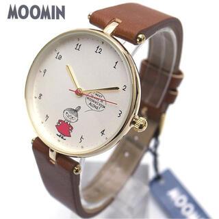 ムーミン 時計 レディース ライトブラウン MOOMIN ミイの腕時計