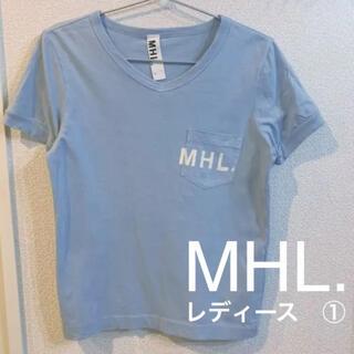 MARGARET HOWELL - 【MHL】シンプルロゴTシャツ レディース サイズ1 マーガレットハウエル
