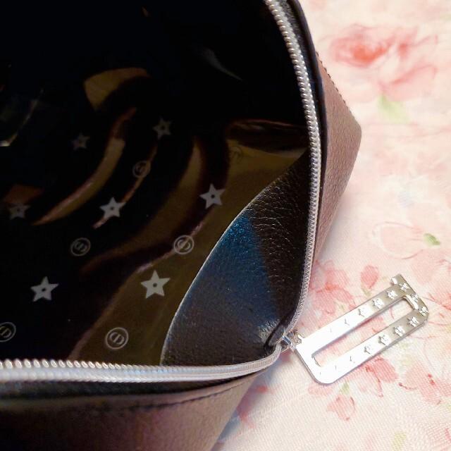 Dior(ディオール)のディオール ノベルティ ポーチ ブラック レーザー調 レディースのファッション小物(ポーチ)の商品写真