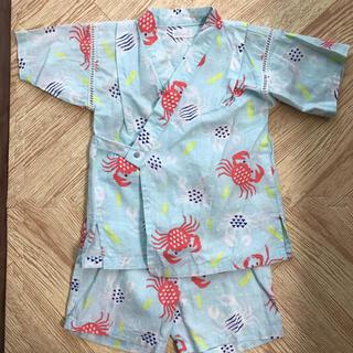 コンビミニ(Combi mini)のコンビミニ 甚平 浴衣 90 ガーゼ(甚平/浴衣)