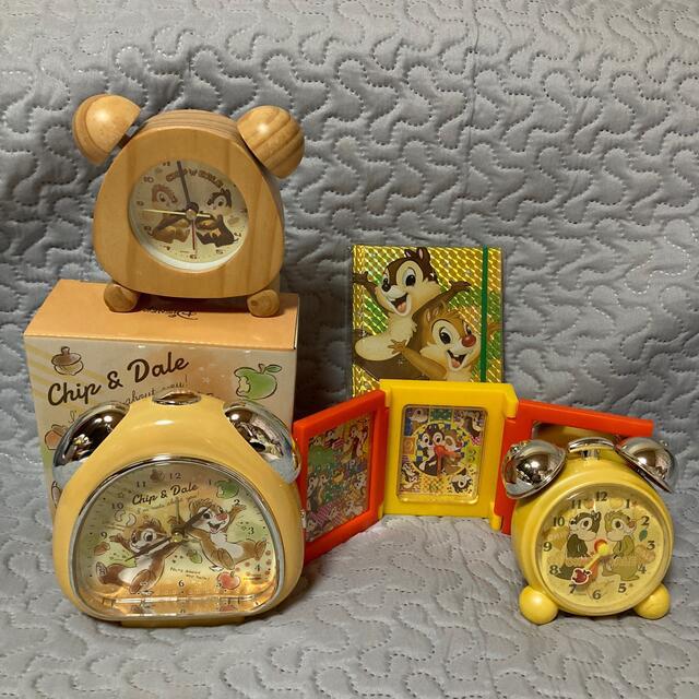 チップとデール 5点セット☆おまけ付き インテリア/住まい/日用品のインテリア小物(置時計)の商品写真
