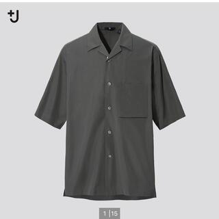 UNIQLO - UNIQLO +J スーピマコットンオープンカラーシャツ 半袖シャツ