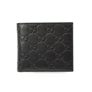 グッチ(Gucci)のグッチ GUCCI シマ折財布 二つ折り財布 メンズ【中古】(折り財布)