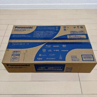 Panasonic - 【未使用品】Panasonicブルーレイディスクレコーダー DMR-4X1000