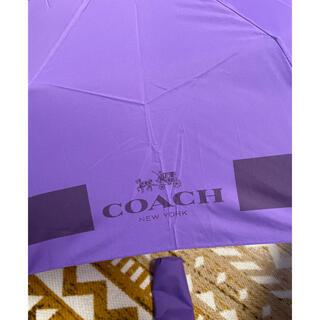 コーチ(COACH)のコーチ 折り畳み傘(傘)