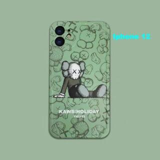 KAWS  iPhone12柔らかい保護スリーブ