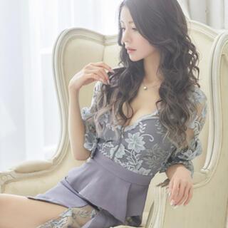 JEWELS - Jewels 一条響 着用 パープル 刺繍ドレス M