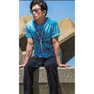 ヴァンズ(VANS)のキムタク 着 私物 vans タイダイtシャツ Lサイズ(Tシャツ/カットソー(半袖/袖なし))
