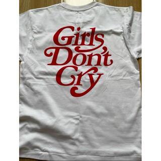 ジーディーシー(GDC)のホワイト HUMAN MADE × Girls Don't Cry Tシャツ(Tシャツ/カットソー(半袖/袖なし))