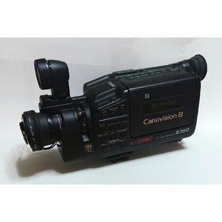CANON/キャノン 8mm ビデオカメラ Canovision8 E350