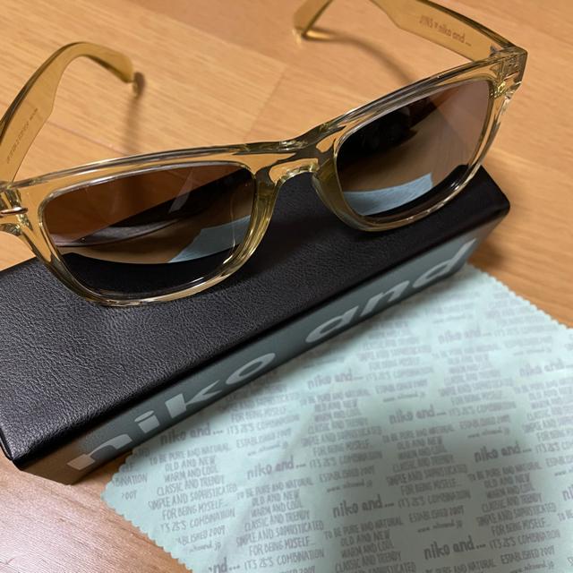 niko and...(ニコアンド)のニコアンド サングラス レディースのファッション小物(サングラス/メガネ)の商品写真