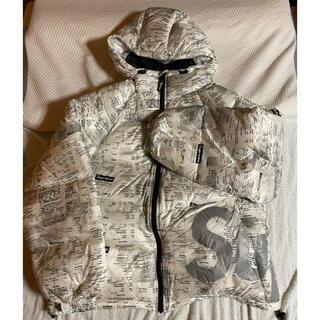 Supreme - supreme Hooded Down Jacket 白 レシート S