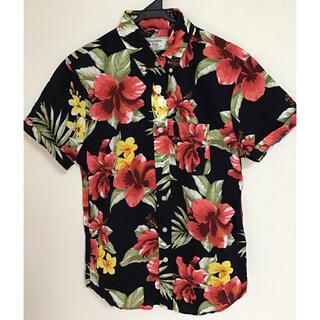 Abercrombie&Fitch - アバクロ A&F  アロハシャツ 半袖シャツ Sサイズ