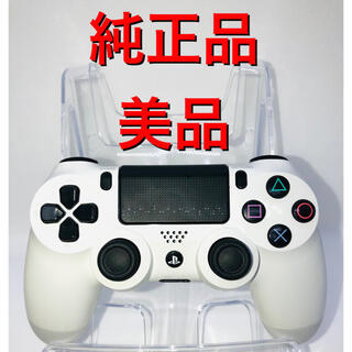 PlayStation4 - 【純正 】PS4 コントローラー ホワイト   DUALSHOCK4
