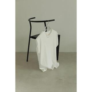 トゥデイフル(TODAYFUL)の正規品 Puff Shoulder Tanktop ホワイト(Tシャツ(半袖/袖なし))